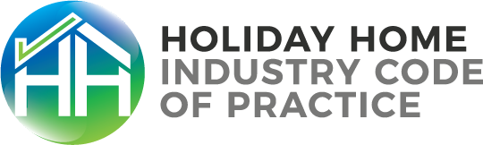 Holiday Home Industry Code of Practice logo